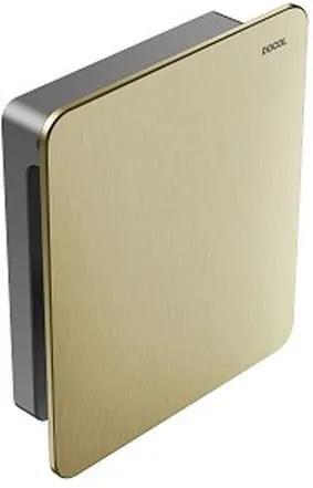 Acabamento para Válvula de Descarga Flat Ouro Escovado - Docol - Docol