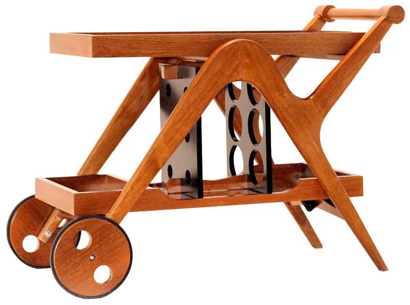 Carrinho Bar Adega Brunello  - Wood Prime LL 33027