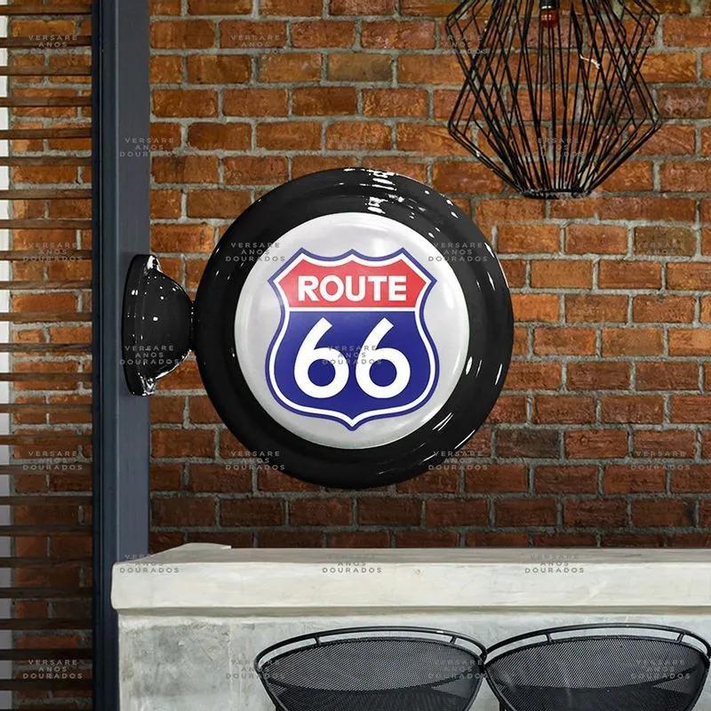 Luminária De Parede Route 66
