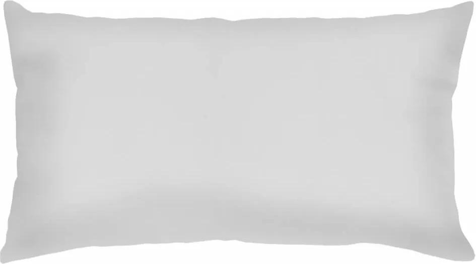 Capa De Almofada Retangular Lisa Branca 60X30