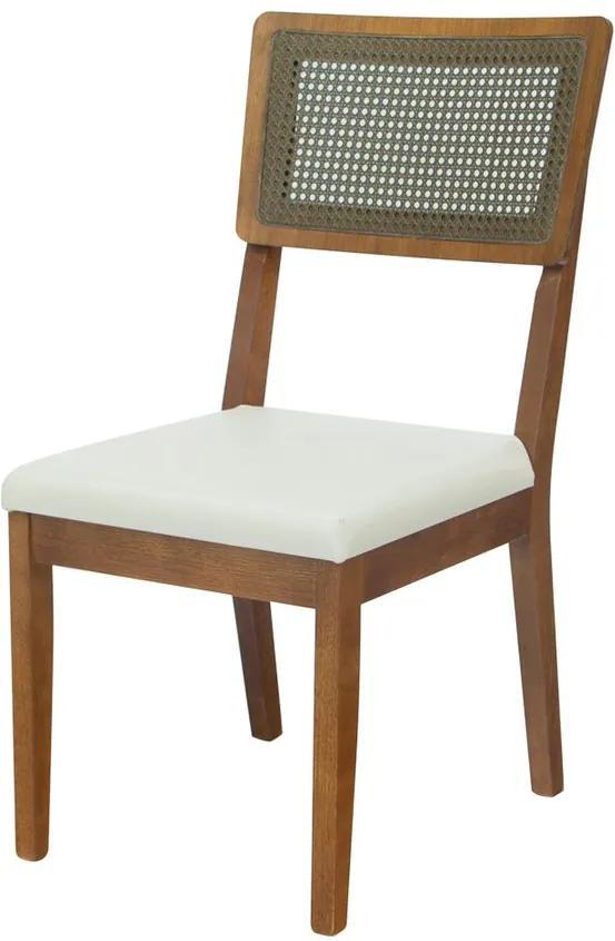 Cadeira de Jantar Antibes com Tela - TA 45127