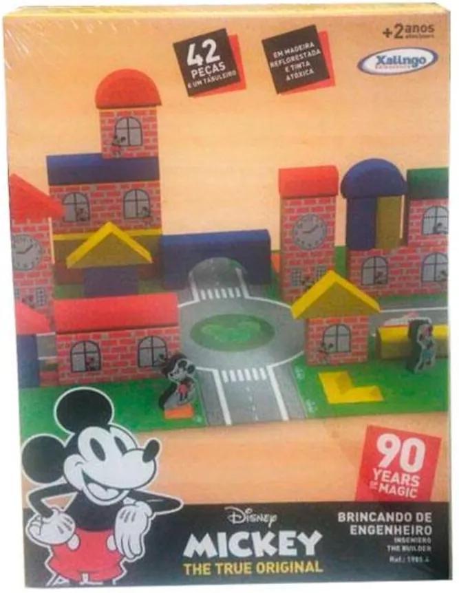 Brincando de Engenheiro Mickey 90 anos - Xalingo