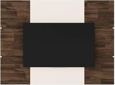 Painel Para TV até 70 Pol. Level Deck/Off White - HB Móveis
