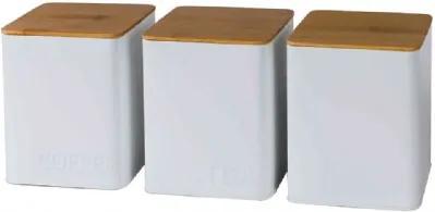 Conjunto de Porta Mantimentos Branco