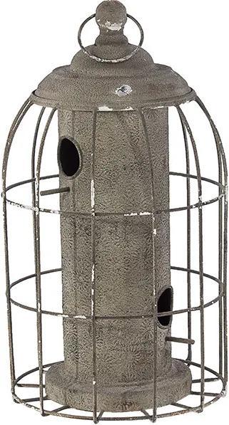 Casa de Pássaro Cercada com Gaiola