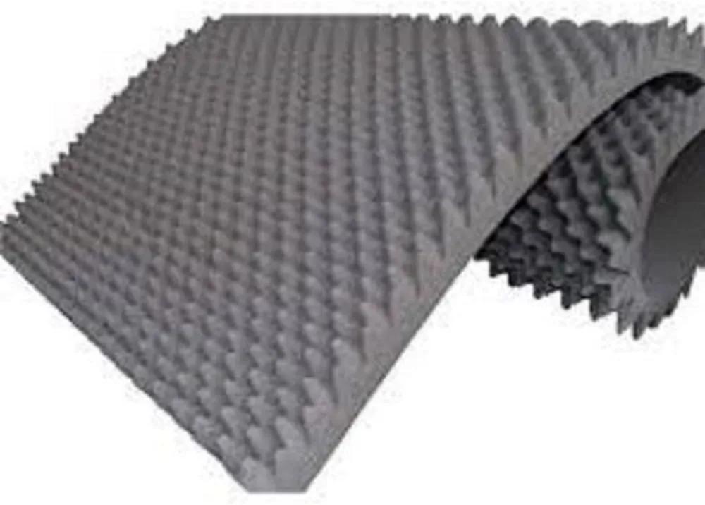 Colchão Espuma Caixa De Ovo D33 Piramidal 1,88 X 0,88 X 0,06 Cm  Ortho...
