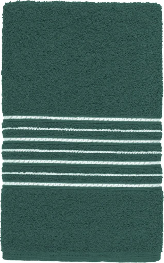 Toalha de Rosto Teka Escala Verde 100% Algodão