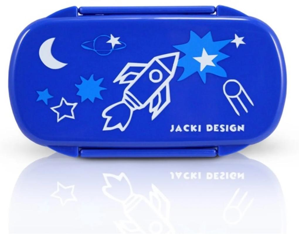 Pote para Lanche Infantil Foguete Jacki Design Sapeka Azul Escuro