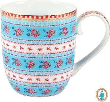 Caneca Pequena Ribbon Azul - Floral - Pip Studio