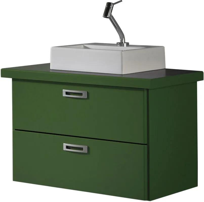Armário de Banheiro Kenzo 161 Verde Musgo - Maxima
