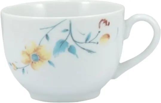 Xícara Chá com Pires 200 ml Porcelana Schmidt - Dec. Mônica