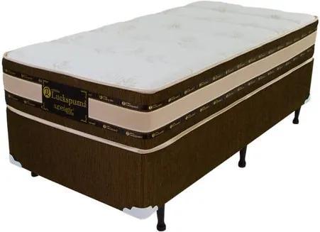 Cama Box Solteiro Cheline Milão Superlastic One Side - 88x188x52cm