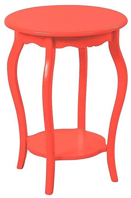 Mesa de Apoio Redonda 50x50 - Wood Prime MY27095