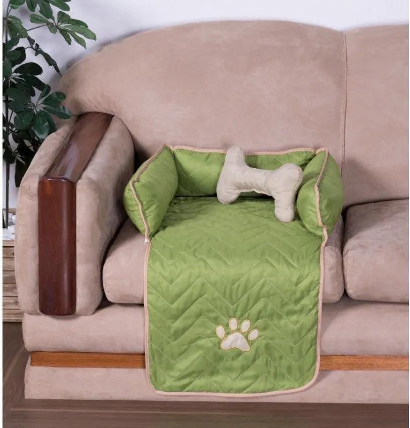 Protetor Pet Pequeno Para Sofá - Verde