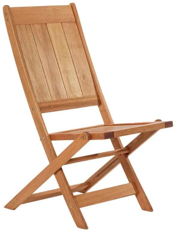 Cadeira Dobrável Acqualung S/ Braço - Wood Prime MR 248106