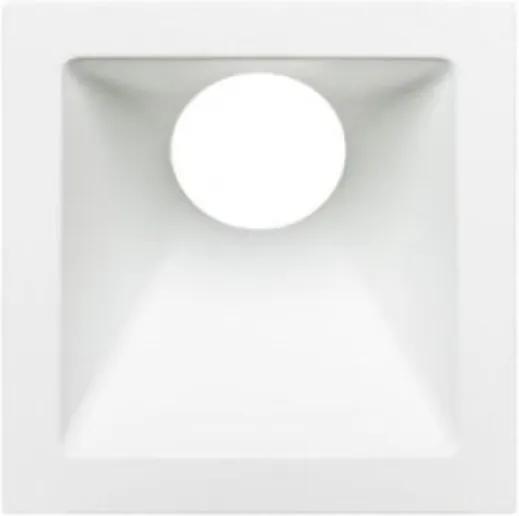 Plafon Embutir Aluminio Mr16 Gu10 25 Branco Square Angle