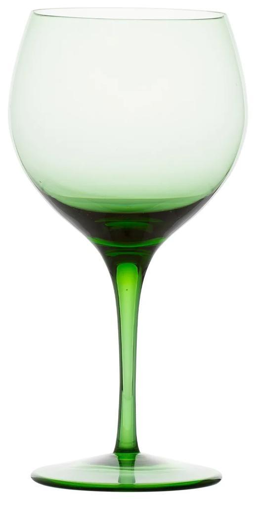 Taça de Cristal P/ Gin - Verde Claro - 00