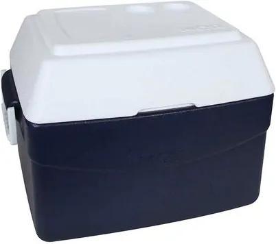 Caixa Térmica Glacial 55 Litros Azul