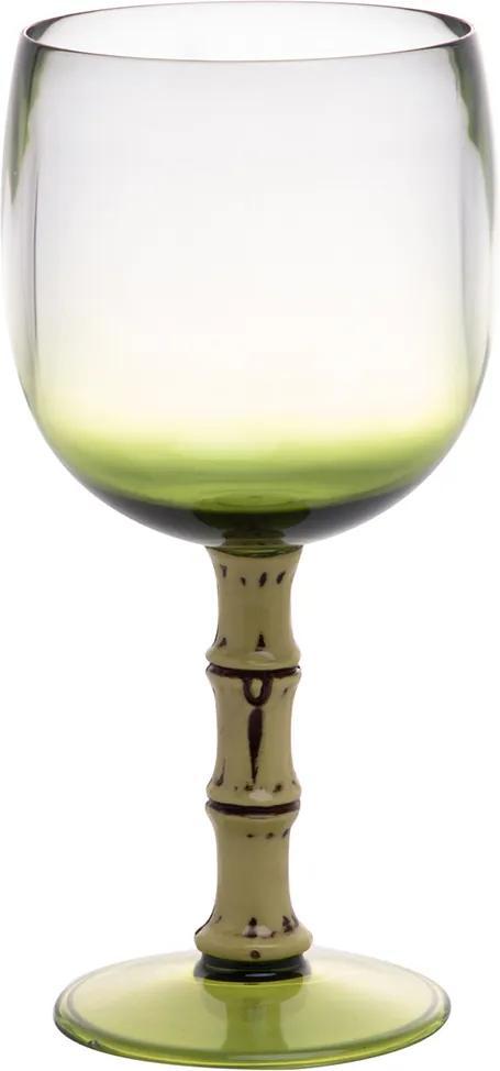 Conjunto 6 Taças Acrílico Verde 500ml