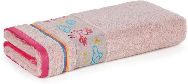 Toalha de Banho Kids - Encantada Rosa- Karsten