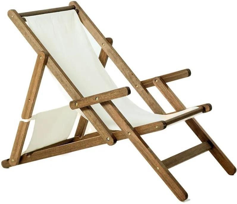 Cadeira Opi Dobrável Com Braços - Wood Prime MR 248767