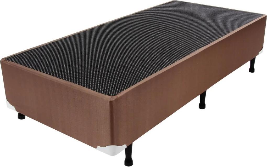 Box Maxi Prime New Marrom 88X188X24 Luckspuma