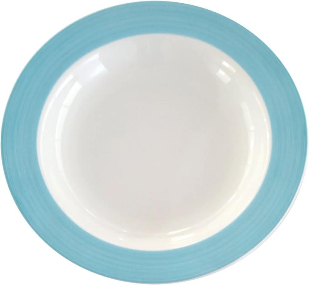 Prato Fundo 23 cm Porcelana Schmidt - Dec. 2319 2° LINHA
