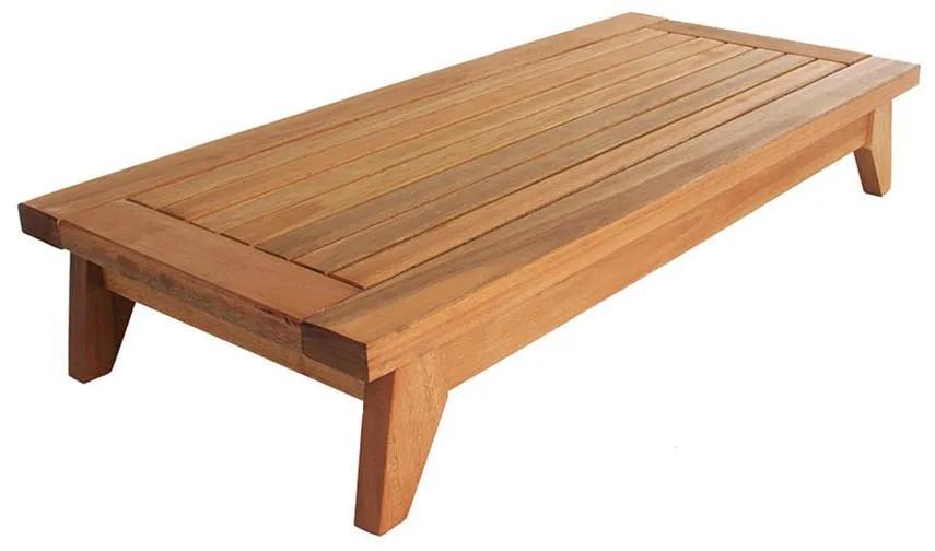 Banco Meditação Zen Largo - Wood Prime MR 34645