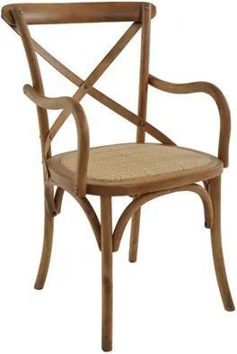 Cadeira C/Braço Odense em Madeira Maciça