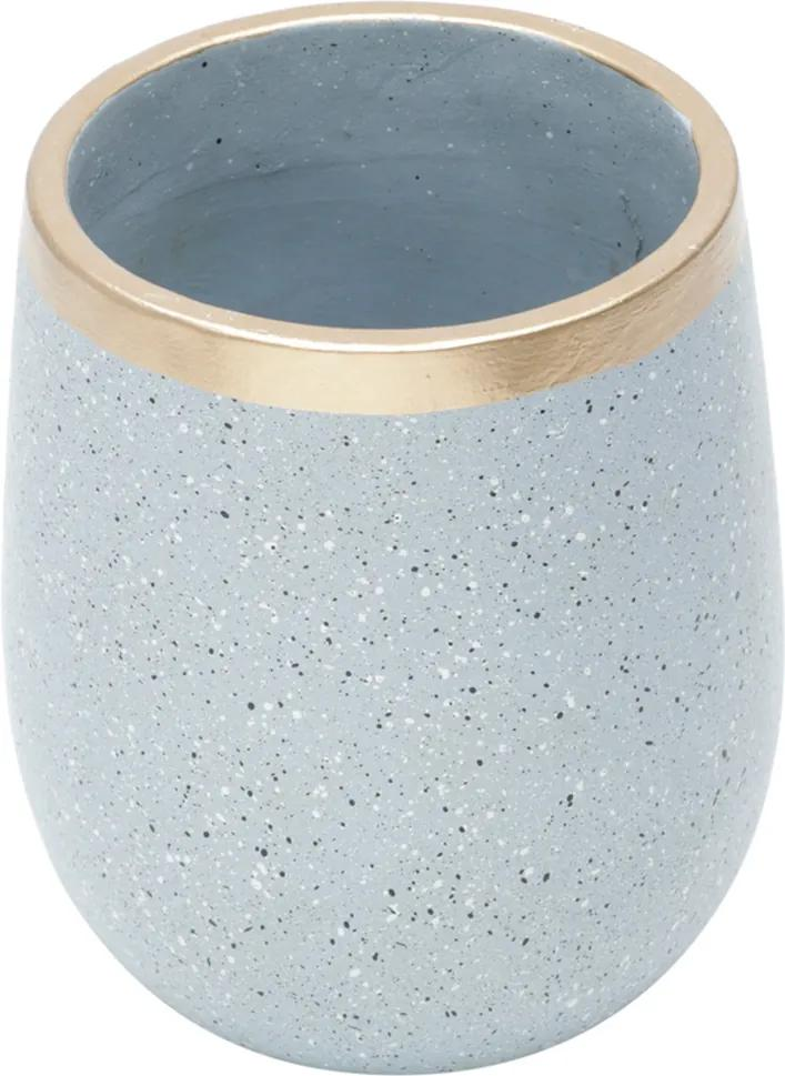 Vaso Decorativo de Cerâmica Craie G