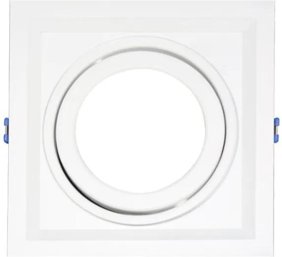 Plafon Embutir In51351bt Branco 1 R-111 Gu-10 50w Sem Lampada