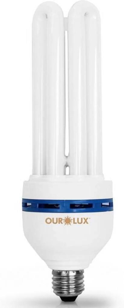 Lâmpada Compacta 4U 30W Branca Fria 220V Ourolux 04051