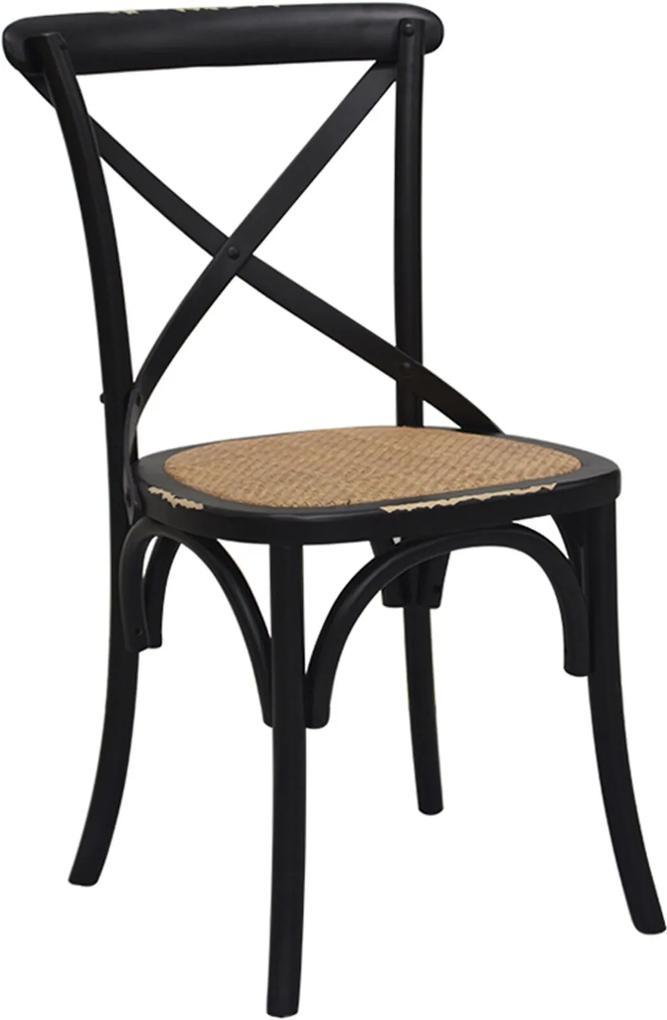 Cadeira Katrina Preta Rivatti