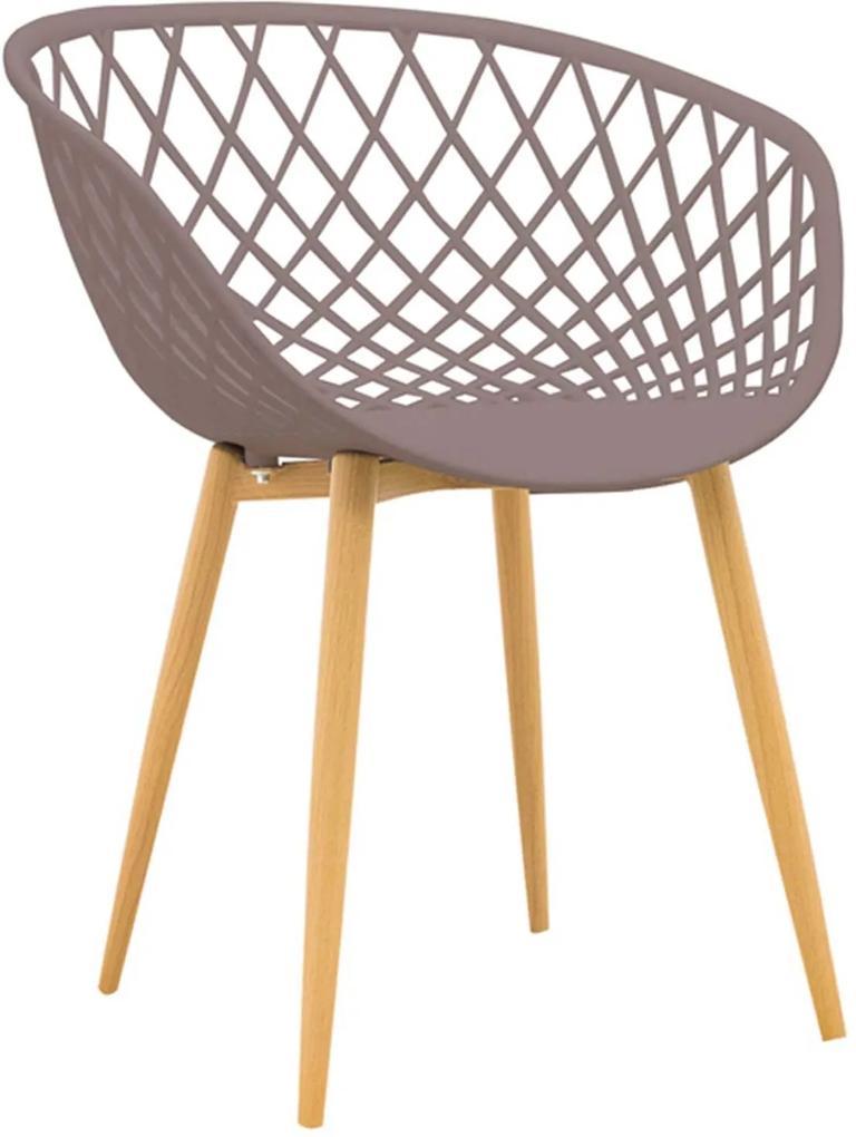 Cadeira Clarice Camurça Rivatti Bege