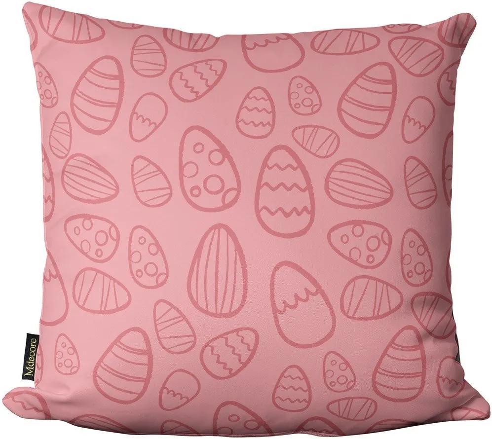 Almofada de Páscoa Ovos Rosa 45x4545x45cm