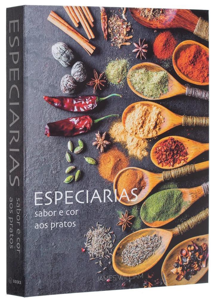 Caixa Livro Decorativo Especiarias