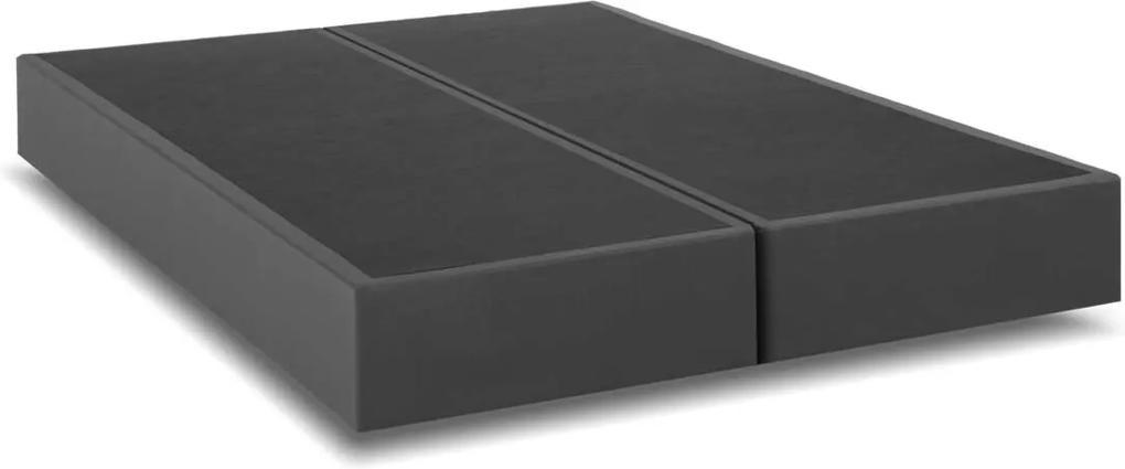 Box Queen Size 158X198X25 Linho Cinza Kappesberg