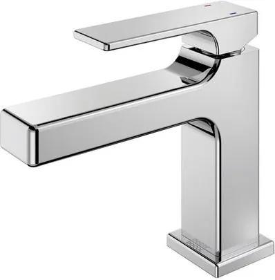Misturador Monocomando para Banheiro Mesa Bica Baixa Edge Cromado - 00849606 - Docol - Docol