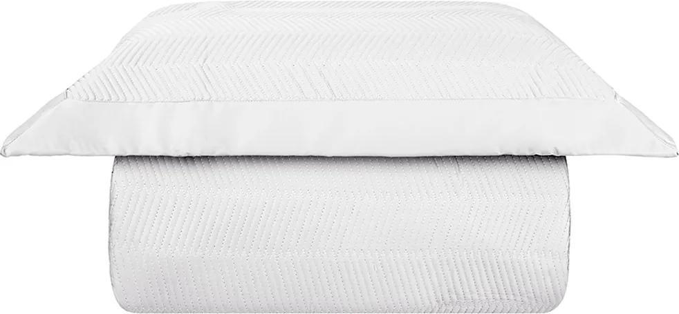 Kit Colcha Palace 400 Fios Solteiro Branco – Naturalle Fashion