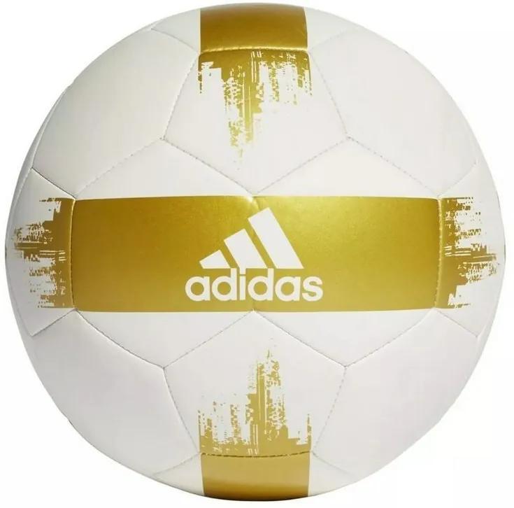 Bola EPP II - Branca e Dourada - Adidas
