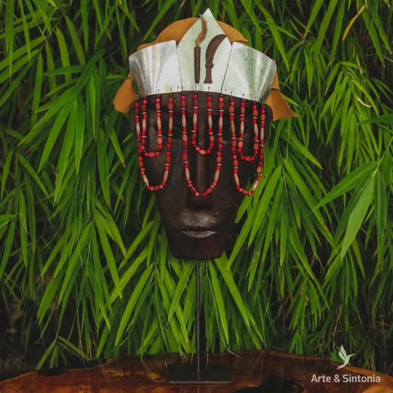 Máscara de Madeira Iansã | Orixá