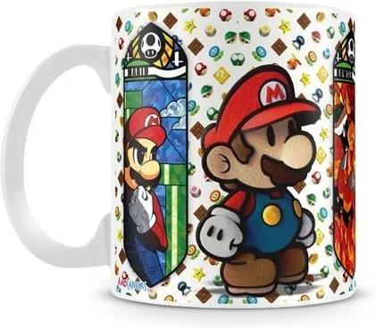 Caneca Personalizada Mario e Luigi