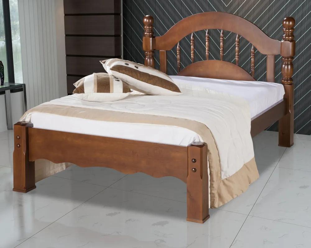 Cama de Casal Queen Siena Madeira Maciça Bedroom