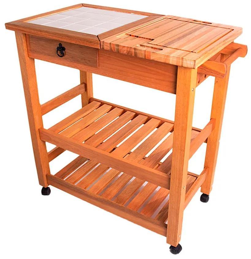 Carrinho Gourmet Grande - Wood Prime MR 218560