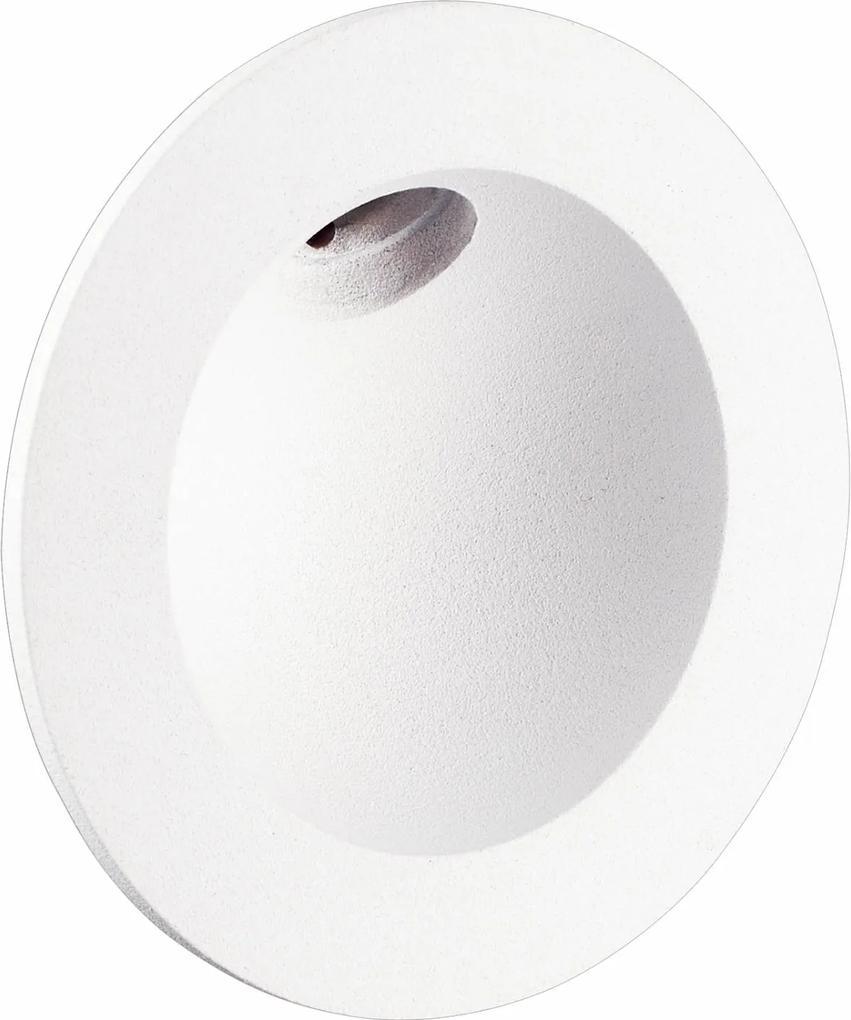 balizador interno PUNT 8cm branco led 2w BELLA LZ056