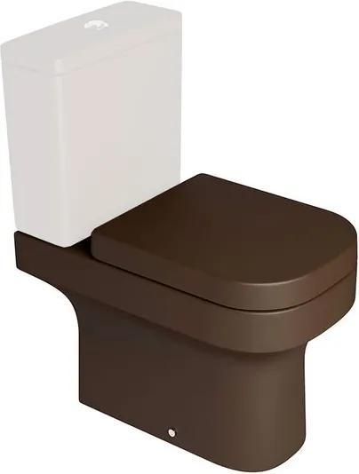 Bacia Sanitária para Caixa Acoplada Piano Marrom Fosco P330 - Deca - Deca