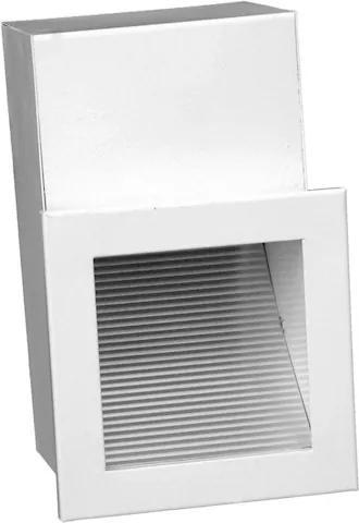 Balizador Embutir Alumínio Branco Led 3W 3000K Ip65
