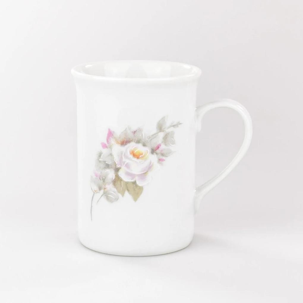 Caneca 240 ml Porcelana Schmidt - Dec. Eterna
