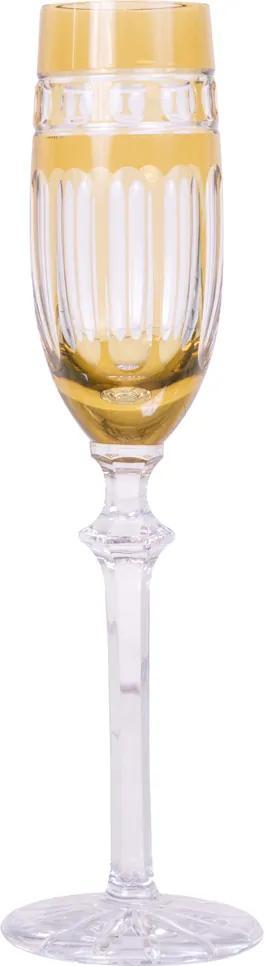 Taça de cristal Lodz para Champanhe de 190ml – Âmbar Báltico