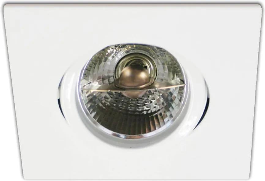 Embutido Quadrado Orientavel para 1XAR70 Sistema de Instalação Click - Interlight - IL0090